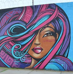 . (SA_Steve) Tags: toofly mural streetart art wellingcourtmuralproject queensny nyc wall