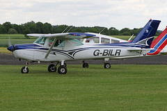 G-BILR (QSY on-route) Tags: gbilr lincoln aero club mid summer fly in sturgate 04062017