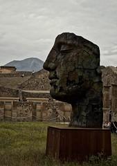 Modern sculpture in Pompeii 18 (Mount Fuji Man) Tags: mitorajapompei mitoraj pompeii modernsculpture sculpture campania italy italia luminar applephotos vesuvius nikkor