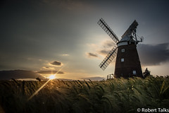 Thaxted Windmill (talksrm) Tags: thaxted essex country village town windmill johnwebbs mill fields townst townstreet morrisdancers sunset evening wheat twilight road guildhall june 2017 england uk tachesteda cutlery uttlesford east dunmow thaxtedwindmill barleyfields summer wheatfields nikon photography colours barley