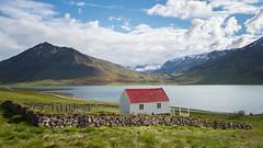 Knappsstaðakirkja, Iceland (AdalsteinnSvanHjelm) Tags: church iceland skies leica leicaq