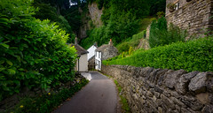 down the lane (Phil-Gregory) Tags: nikon d7200 tokina 11mm 1120mm 1120 1116mmf8 1120mmf28 116proatx house lane scenicsnotjustlandscapes curve peakdistrict perspective peace road