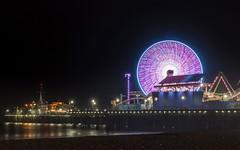 Santa Monica Pier (itsBryan) Tags: losangeles sonyalpha sony a6000 sonya6000 rokinon 24mm 1point4 summer longexposure california cali sonyg
