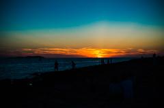 sunset cafe del mar (Mac Melon) Tags: cafedelmar sunset ibiza puesta de sol mar playa arena sun sea beach sand sky cielo