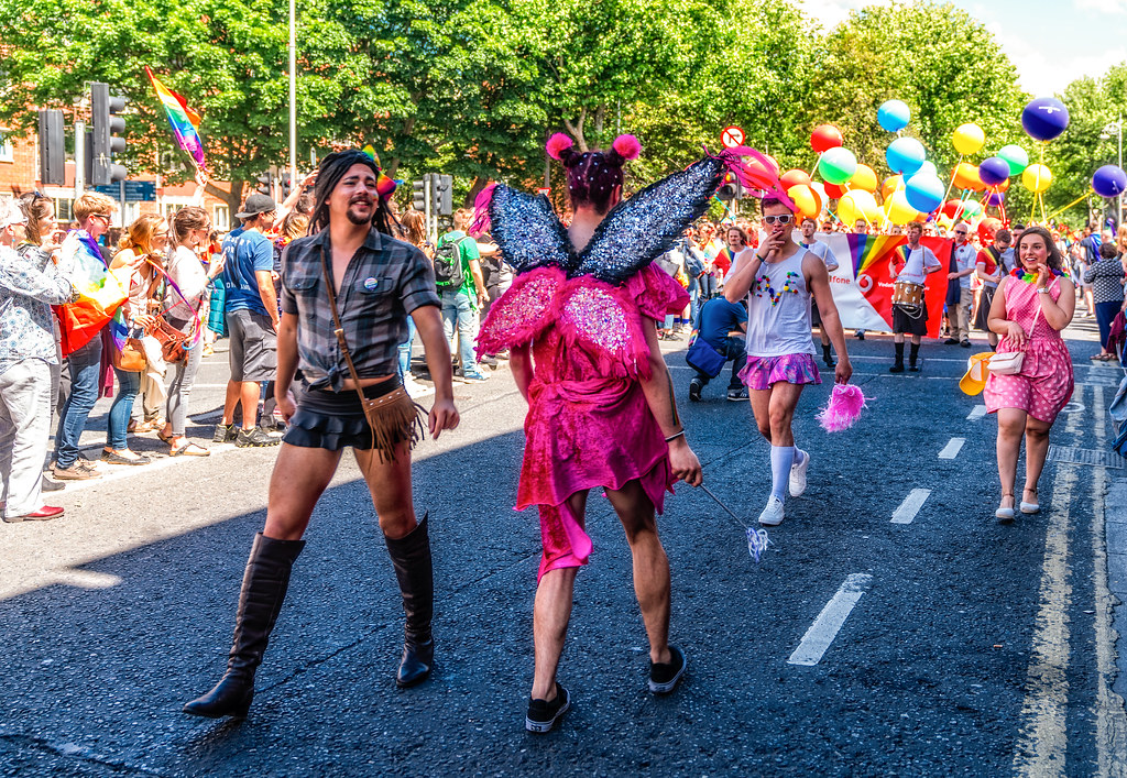 LGBTQ+ PRIDE PARADE 2017 [STEPHENS GREEN BEFORE THE ACTUAL PARADE]-129889