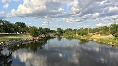 Concho River in San Angelo, Texas (Diann Bayes) Tags: sanangelo texas conchoriver water westtexas skies blue