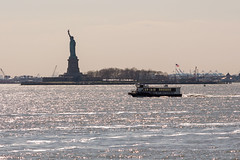 Statue of Liberty from Staten Island Ferry (The_Anorak) Tags: newyork newyorkcity unitedstates usa northamerica manhattan 14th 15th 16th 17th april 2017 holidayofalifetime statueofliberty libertyisland statenislandferry