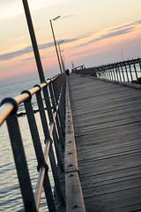 Balance (.Stephen..Brennan.) Tags: fa77 jetty moonta pentaxk3 southaustralia sunset moontabay australia