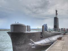 Submarine (HDRforEver) Tags: rügen sassnitz submarine uboot hdr himmel sky meer sea hafen port harbor