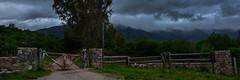 ENTRANDO A LA TRANQUERA (Marina Balasini & Juan Montiel) Tags: mountain montañas travel turismo clouds nubes sky cielo tranquera argentina