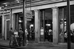 Cafe Pontalba (minus6 (tuan)) Tags: minus6 mts leicamonochrom summilux 50mm frenchquarter neworleans creole cajun