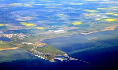 Klagshamn (oobwoodman) Tags: aerial aerien luftaufnahme luftphoto luftbild cphgva sweden suède schweden sverige klagshamn colza raps rapeseed canola skåne