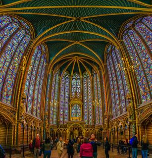 Sainte-Chapelle - Les Fenêtres