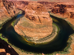 Horseshoe Bend (Bom-he) Tags: horseshoebend usa page landscape landschaft river flus stones steine arizona united states nature natur