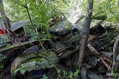 SP-7 (StussyExplores) Tags: austria scrapyard vintage cars teeth rust decay abandoned left behind vehicles explore exploration urebx