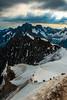 Cresta Aiguille Midi (faltimiras) Tags: chamonix france alps alpes montblanc tacul maudit trekking hikking alpinismo alpinism alpinisme serac gel ice hielo nieve cielo montaña montañas moutain mountains jorasses aiguille midi