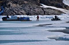DSC_0162 (JillScoby) Tags: qamutik arctic baffinisland pondinlet floeedge eagleeyetours snowmobile nunavut inuit