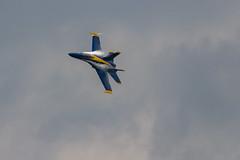 US Navy F-18 Blue Angel @ 2017 NY Air Show (JMFusco) Tags: stewartinternationalairport aircraft hornet airplane f18 newyorkairshow2017 blueangels usnavy hornets aviation usn fa18hornet