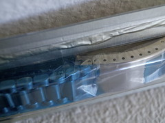 1970's NOS Omega Factory Sealed 022 ST 1162. 173 Stainless Steel 22m Bracelet (EastStrom) Tags: 1970s nos omega factory sealed 022 st 1162 173 stainless steel 22m bracelet