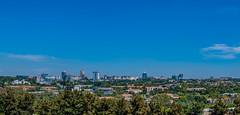 Sandton City, Johannesburg (Paul Saad) Tags: sandton johannesburg pano panorama panoramic blue buildings city nikon
