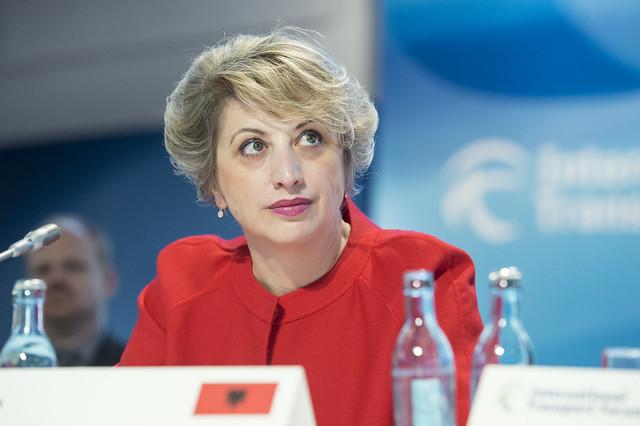 Argita Totozani at the Closed Ministerial