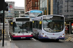 A Year Seperated (M3/SimpliCITY 7) (41415/65756) (DeadManBreathing96) Tags: first glasgow firstglasgow dennis dart slf marshall capital ln51 dwy ln51dwy 41415 scania l94ub wright eclipse solar sk02zyh sk02 zyh 65756 renfield street scotland willowleaflivery scotstoun md253 firstlondon firstcentrewest dml41415 olympialivery caledonia ss189 hutchisonsofovertown