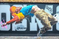 Cosmo Sarson (SileeSoft) Tags: graffiti painting drawing abstract streetart art bricklane spray cosmos sarson
