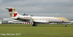 B-8269 G550 Glasgow July 2017 (pmccann54) Tags: b8269 gulfstream550