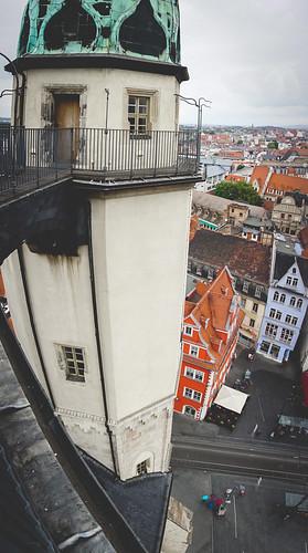 Blick von der Marktkirche Unser lieben Frauen