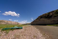 (Sean Gordon) Tags: milkriver alberta canoe canoeing prairie plains grasslands summer