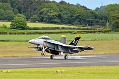 F/A-18F Super Hornet (Allan Durward) Tags: fa18f usnavy hornet superhornet pik egpk prestwick glasgow prestwickairport scotland
