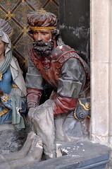 Saint Omer, Nord-Pas-de-Calais, Cathédrale Notre-Dame, south aisle, deploration, detail