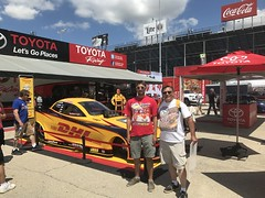 JR Todd, DHL, Funny Car, Dragster,  2017, NHRA, Nationals, at, Route 66, drag way, 7/8/2017, with my son, Freddie, and my son in law, Dimitri, (Picture Proof Autographs) Tags: jrtodd dhl funnycar dragster 2017 nhra nationals route66 dragway 782017 withmyson freddie andmysoninlaw dimitri nhranationals2017route66dragstripdragwaydragsterddragsterstopfuelfunnycarprostockhotwheelstommcewinnmongoosepapajohnspapajohnspizza