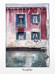 Venise (francoisedamery) Tags: venise dessin