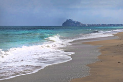 Sandstrand - (rotraud_71) Tags: spain spanien peníscola sea waves sky water naturemasterclass