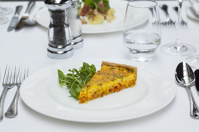Crab Saffron Tart © ROH. Photograph by ROH Restaurants, 2017