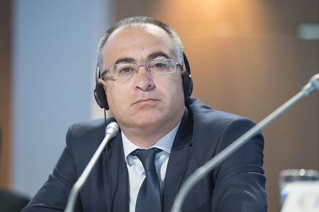 Velik Zanchev attending the Closed Ministerial