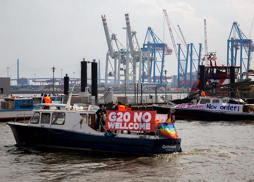 Block G20 - Boat demonstration