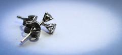 Bottoms Up (nicolechamilton) Tags: bottomsup macromondays macromonday hmm earring jewelry diamond back macro small nikon