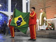 Missa Solene em Homenagem aos Bombeiros em Blumenau.