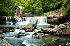 Grist Mill at Babcock State Park (Vladimir Grablev) Tags: mill westvirginia landscape historic waterfalls water park grist scenic waterfall