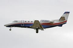 D-CGAA EDDF 17-06-2017 (Burmarrad) Tags: airline air hamburg aircraft cessna 560xl citation xls plus registration dcgaa cn 5606173 eddf 17062017