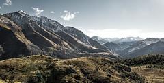 Queenstown Hill - New Zealand (Max Pa.) Tags: new zealand neuseeland landscape landschaft natur nature queenstown hill hike track mountain mountains canon 5d 2470mm light colours wolken clouds travel