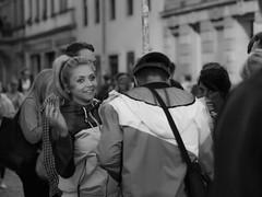 Bunte Republik Neustadt (BRN in Dresden) (lens73germany) Tags: 365 365tage 365days project365 3652015 365daysproject fotodestages photooftheday 366 366tage 366days project366 3662015 366daysproject sw bw schwarz weis black white schwarzweis noiretblanc einfarbig street streetphotography strasenfotografie inthestreets streetart candid olympus omd em5 mft deutschland germany allemagne dresden sachsen saxony portrait face portät personen people leute brn bunterepublikneustadt streetshots night darkness