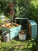 Stacking Compost Bin (PatchworkPottery) Tags: sections stacking beehive compost composting garden pallet compostbin