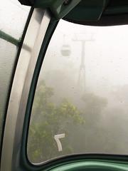 Kuranda SkyRail in the Mist (stephenk1977) Tags: australia queensland qld cairns kuranda rainforest cableway cable car gondola skyrail iphone vsco