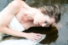 Q39A8545 (Oceanstatephotoman) Tags: water model ophelia white dress river