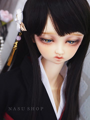 Volks - 眠NANA (nasu_shop/寶井茄子/ +*. 原味茄汁本舖 .*+) Tags: volks bjd doll makeup nana