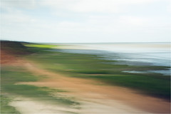 tideland........North Sea/Sylt/Morsum Cliff (Brigitte Lorenz) Tags: seascape abstract icm tideland northsea sylt morsumcliff colors summer