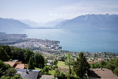 View from Le Mirador Resort & Spa (Leonski) Tags: lake geneva view swiss switzerland overlooking lavaux vineyards